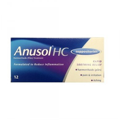 Anusol HC suppositories