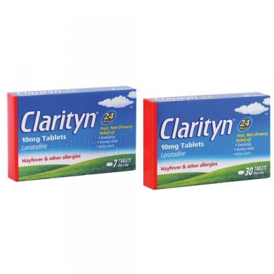 Clarityn allergy 10mg