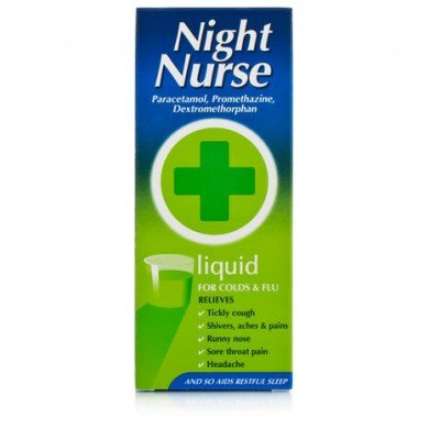 Night Nurse cold remedy oral solution