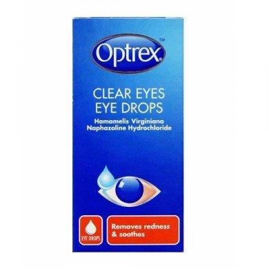 optrex clear eye drops